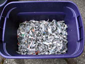 worm compost bedding
